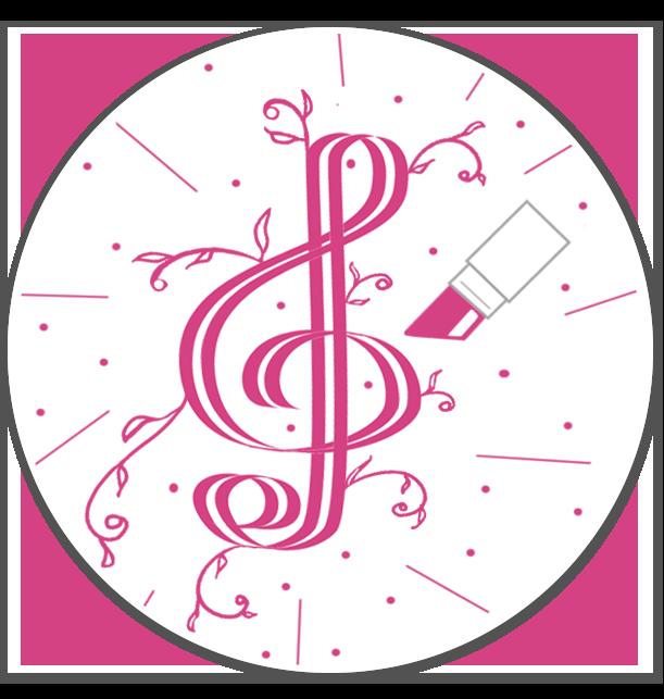 Violin Key Pink